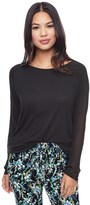 Juicy Couture Essential Knit Long Sleeve Tee