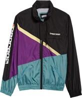 ICECREAM Steamer Asymmetrical Colorblock Hooded Jacket