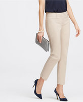 Ann Taylor Tall Devin Stretch Cotton Cropped Pants