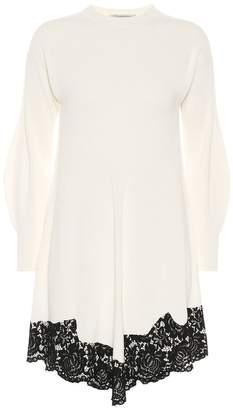 Philosophy di Lorenzo Serafini Lace-trimmed minidress