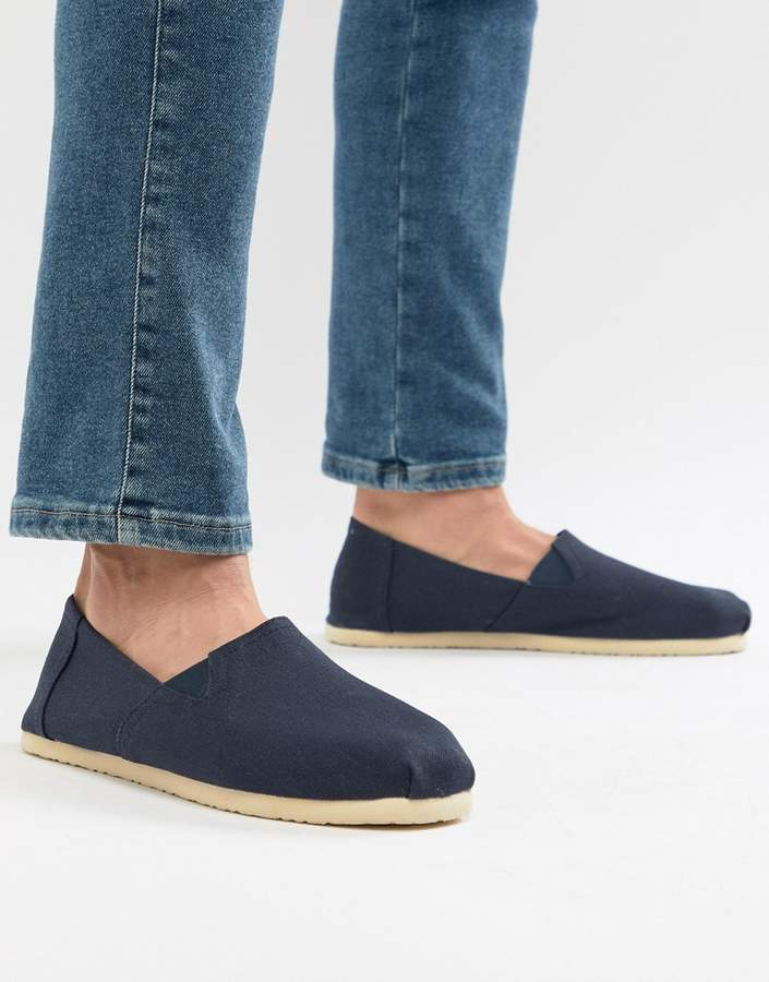 Next Espadrille In Navy