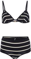 Laura Urbinati Striped Bikini Set