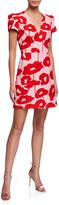 Milly Atalie Poppy Floral Print Dress