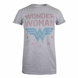 Dc Comics Women's Wonder Woman Stars T-Shirt