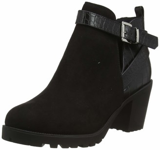 New Look Women's WF CROOK IC-CT OUT MX CHKY BT85:1:S205 Ankle Boots