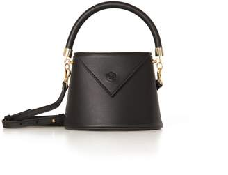 Nina Hauzer The Bianca Bucket Black Bag