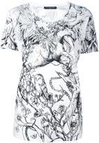 Alexander McQueen unicorn print T-shirt