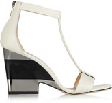 Jimmy Choo Milan leather wedge sandals