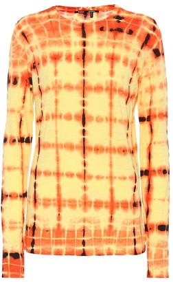 Proenza Schouler Tie-dye cotton top