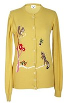Leitmotiv Women's Yellow Polyamide Cardigan.