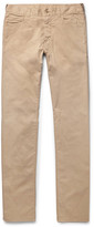 Canali - Slim-fit Stretch-cotton Twill Chinos