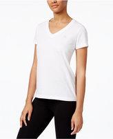 Lauren Ralph Lauren V-Neck Cotton Pajama T-Shirt