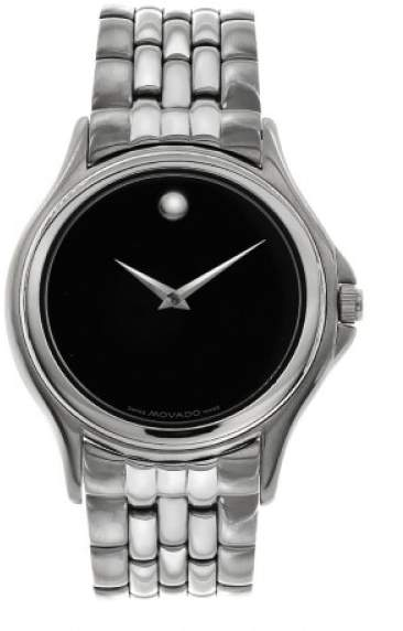 Movado 84 E4 0863 Museum Stainless Steel Mens Watch