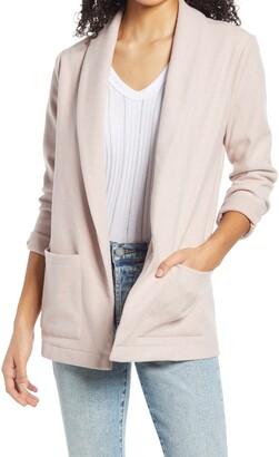 BB Dakota Herringbone Soft Knit Blazer