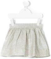 Knot - metallic skirt - kids - Linen/Flax - 3 yrs
