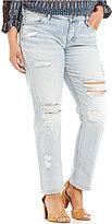 Silver Jeans Co. Plus Delancy Slouchy Fit Jeans