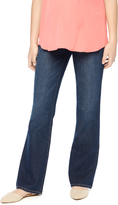 Motherhood Indigo Blue Petite Boot Cut Maternity Jeans