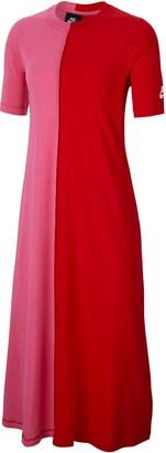 Nike Sportswear Organic Cotton Short Sleeve Midi Dress