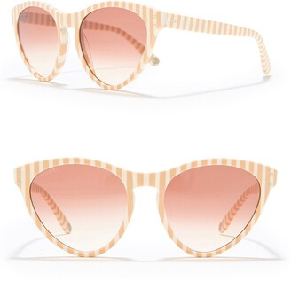 Gucci Core 54mm Cat Eye Sunglasses