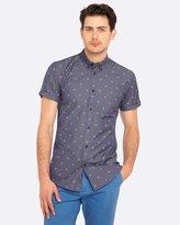 Oxford Tottenham Short Sleeve Printed Shirt