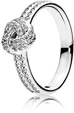 Pandora Women Silver Signet Ring - 190997CZ-54