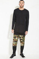 Forever 21 FOREVER 21+ Cayler & Sons Camo-Paneled Sweatpants