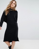 Pull&Bear Knitted Midi Dress
