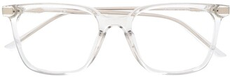 Calvin Klein Combined Square-Frame Glasses