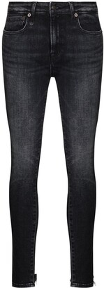 R 13 Alison mid-rise skinny jeans