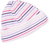Baby Steps Lilac & Pink Stripe Beanie - Infant