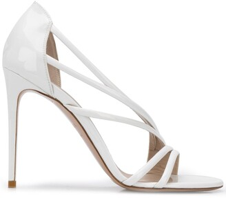 Le Silla Scarlet 105mm strappy sandals