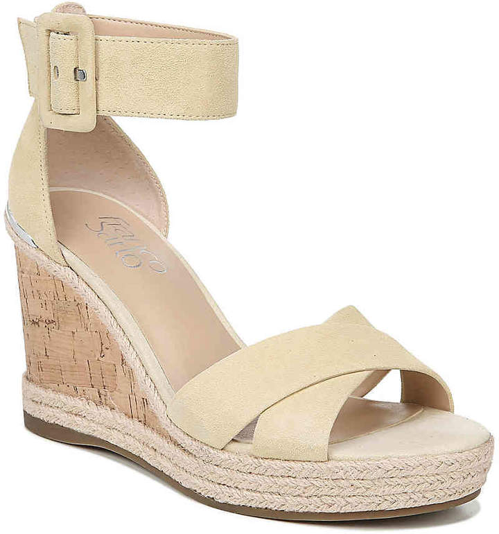 f525f616e3 Yellow Suede Wedges - ShopStyle