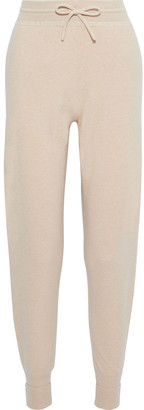 Chloé Intarsia Cashmere Tapered Pants