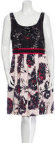Peter Som Sleeveless Floral Dress