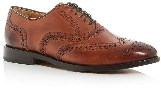 Cole Haan Men's Kneeland Leather Wingtip Brogue Oxfords