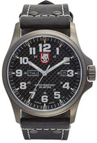 Luminox Men's 'Land - Atacama Field' Leather Strap Watch, 45Mm