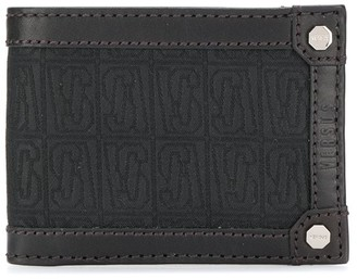 Versus Logo Patch Bifold Wallet