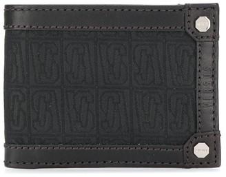 Versus logo patch bifold wallet