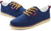 Meiruian Quality Mens Casual Loafers Canvas Driving Shoes