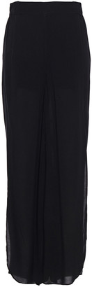 Vix Paula Hermanny Voile Wide-leg Pants