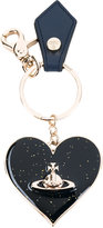 Vivienne Westwood heart keyring - unisex - Leather/metal - One Size