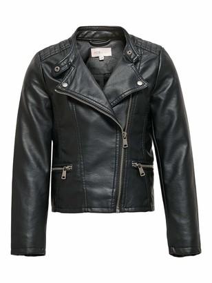 Only Girl's KONFREYA Faux Leather Biker OTW NOOS Jacket