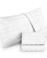 Westport CLOSEOUT! Extra Deep King 4-pc Sheet Set, 1000 Thread Count 100% Cotton Stripe