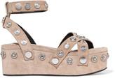 Alexander Wang Sandrah studded suede sandals