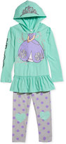 Nannette Disney's Sofia The First Little Girls' 2-Piece Hoodie & Leggings Set, Little Girls (2-6X)