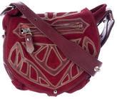 Isabel Marant Embellished Suede Crossbody Bag