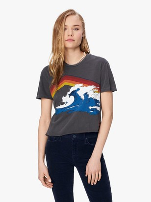 Aviator Nation Mountain Wave Boyfriend Tee - Coal
