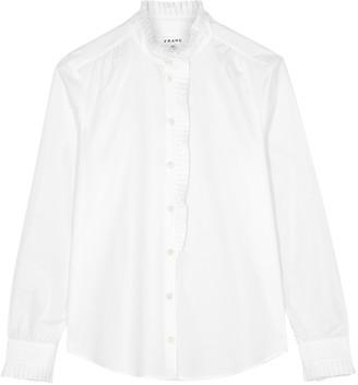 Frame Easy white cotton shirt