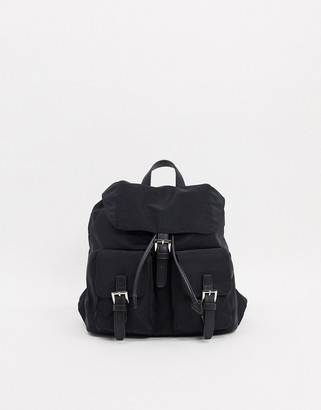 French Connection Miss Nylon Back Pack