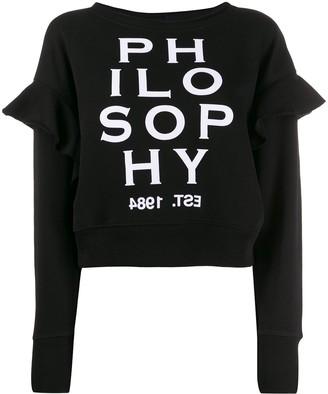 Philosophy di Lorenzo Serafini contrast logo jumper